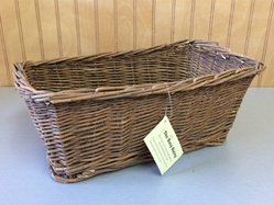 Willow Rectangle Toy Basket