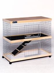 48 in.  Double Level Bunny Abode Condo