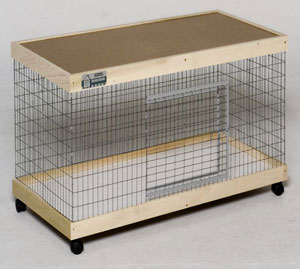36 in. Single Level Bunny Abode Condo