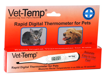 Vet-Temp Rapid Digital Thermometer for Pets