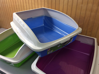 Large Litter Pan WITH Rim