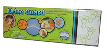 Ware 15 inch Urine Guard in White - CLEARANCE