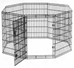 Black Exercise Pen 42 inch tall - PP105
